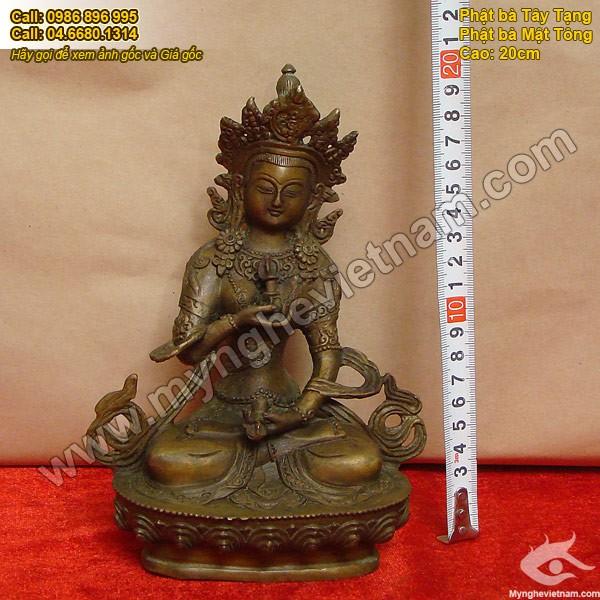 Tượng Kim cang Tát Đỏa Phật Bà Tây Tạng 20cm0