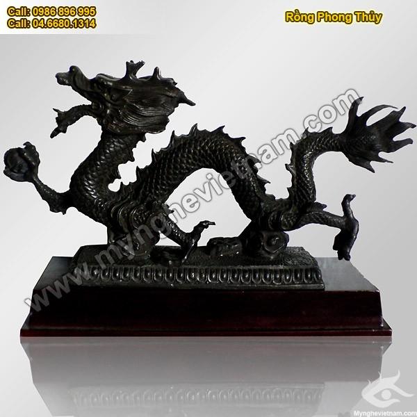 Rồng, Long Thần Tọa, Tượng Rồng, Rồng Phong thủy, vật phẩm phong thủy, tượng đồng phong thủy