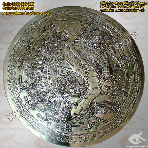 Mặt trống đồng Việt Nam 4 miền - Nét Văn hoá Việt