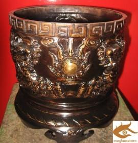 Bát hương đồng - Đồ thờ cúng cao cấp