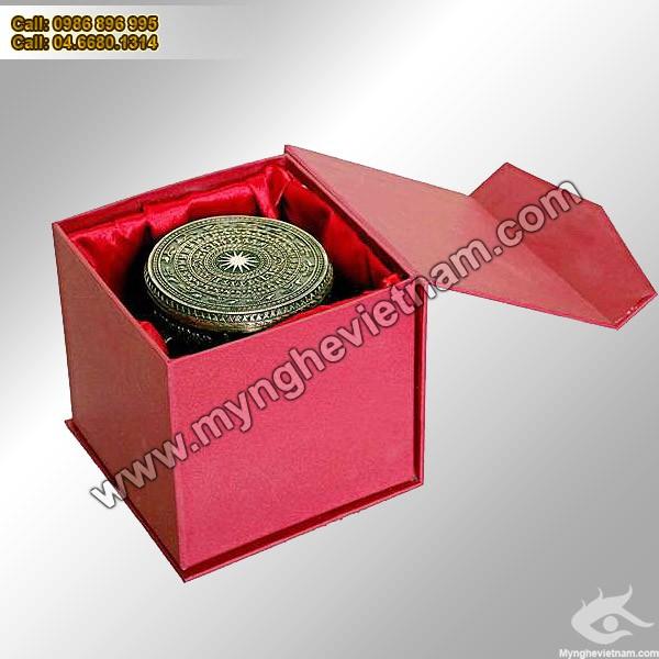 Trống đồng 8,3cm - Trống đồng Việt Nam Quà tặng mỹ nghệ cao cấp