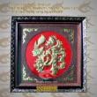 Chữ đồng Lộc hóa rồng - Mẫu 2