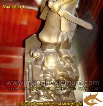 Tượng Lê Lợi, Vua Lê Lợi, vị anh hùng dân tộc, tượng đồng danh nhân Việt Nam