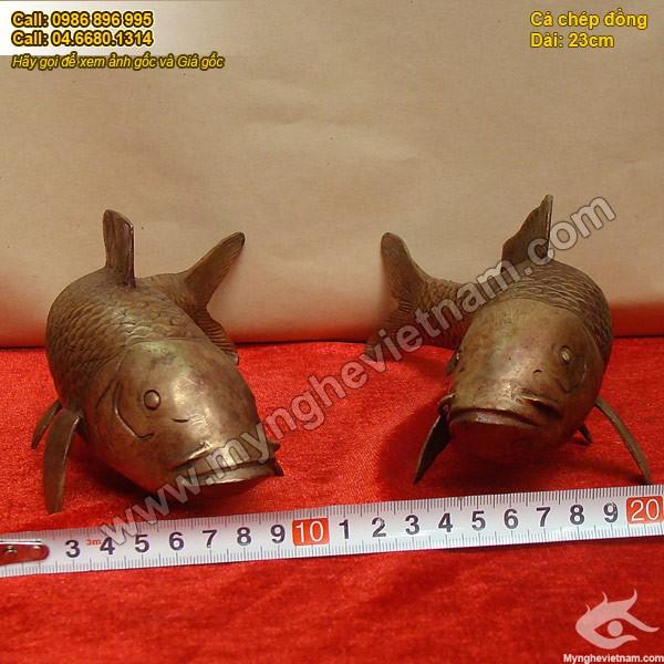 Tượng đồng cá chép, cá chép phong thủy, cá chép bằng đồng0