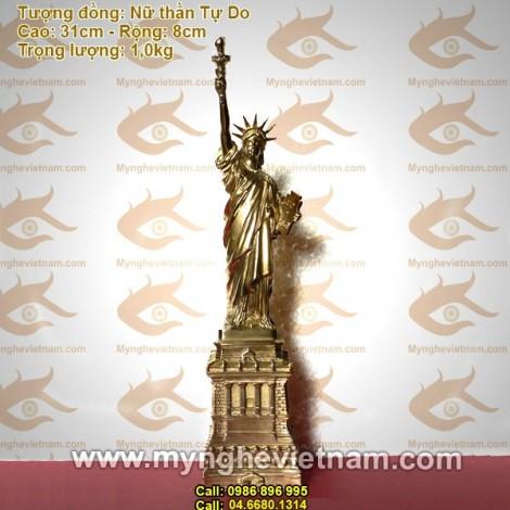 Tượng Nữ thần Tự do - Tượng đồng nghệ thuật và trang trí, quà tặng đối tác, quà tặng cao cấp