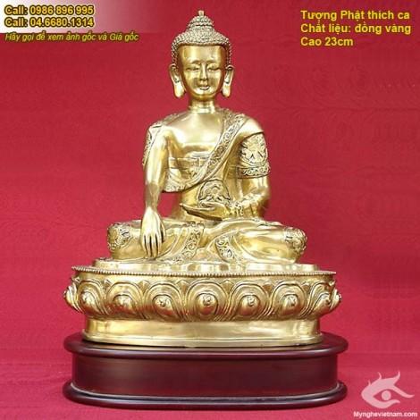 Tượng phật Thích Ca, Tượng Phật Tổ Như Lai, Phật Tổ chất liệu đồng, tượng đồng