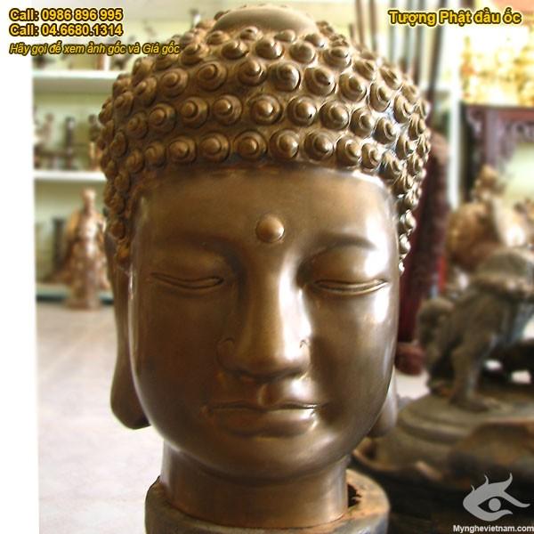 Tượng đầu phật Tổ - Phật Thích ca Mâu Ni