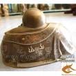 Tượng Phật Di Lạc - Khảm tam khí, khảm bạc, tượng thờ cúng