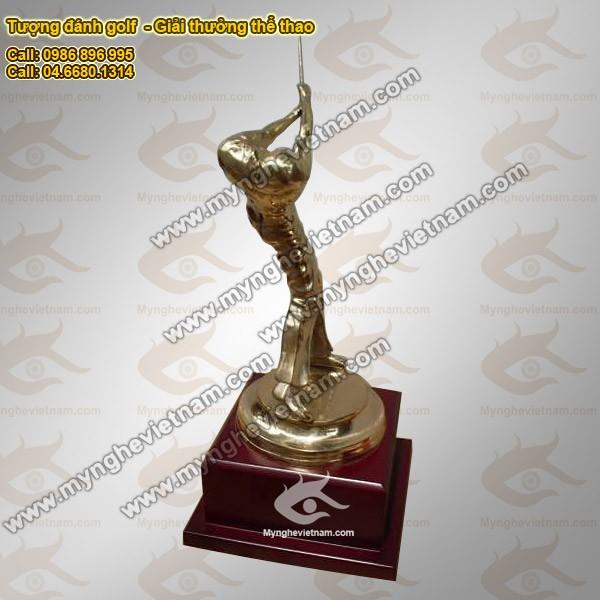Tượng đồng giải thưởng thể thao: Giải thưởng Cúp Golf, Cup câu cá, Cup lưu niệm