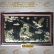 Anh hùng tương ngộ - Tranh đồng nghệ thuật phong thủy