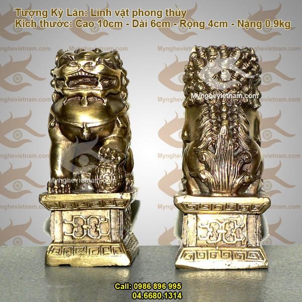 Nghê phong thủy, Nghê đồng, Nghê Sư tử, vật phẩm phong thủy, chấn trạch nhà