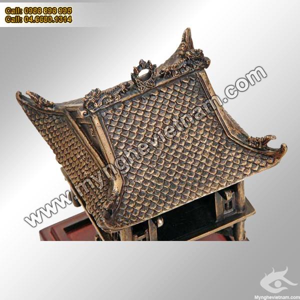 Mái Chùa Một Cột Hà Nội - Quà tặng 1000 năm Thăng Long