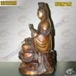 Tượng đồng Phật Bà Quan Âm Bồ Tát