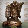 Tượng Phật Di Lạc gánh vàng,Cao 20cm, Phật di lặc, gánh Tiền, TƯợng thờ cúng, Phật Tổ di lặc
