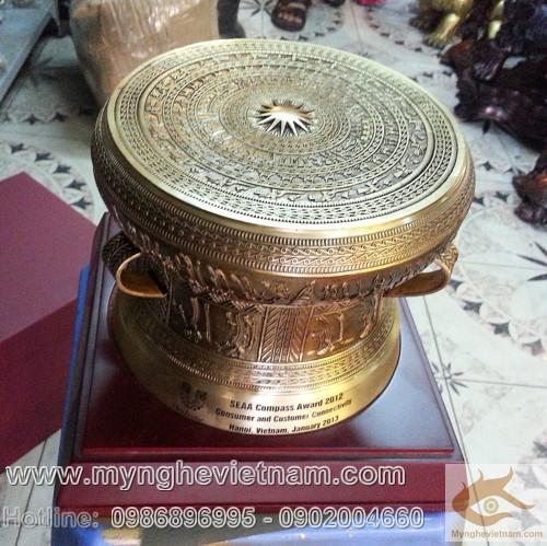 trống đồng quà tặng đk 25cm