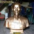 Tượng Bác Hồ bằng đồng: Tượng chân dung, bán thân Bác Hồ