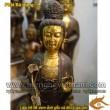 Tượng Phật Bà đứng thiền, Cao 60cm và 105cm, tượng phật bà bằng đồng
