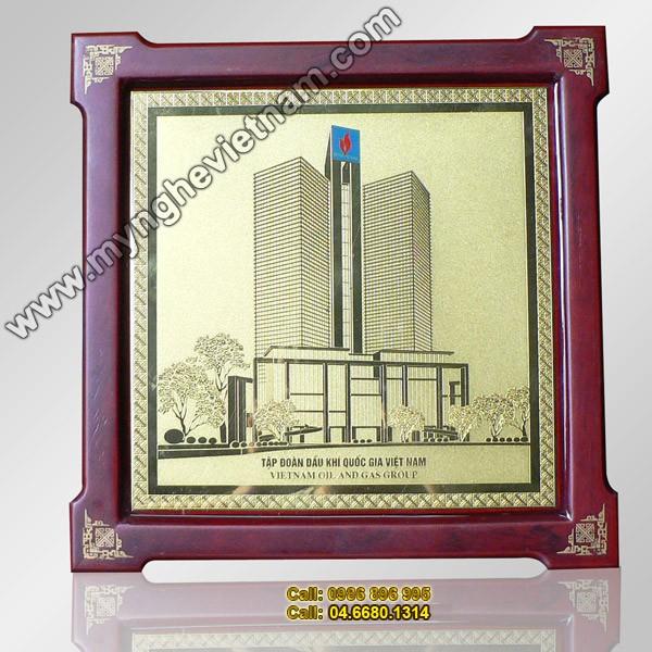 Biểu trưng: Tòa nhà Dầu khí Việt nam - Quà tặng đối tác cao cấp