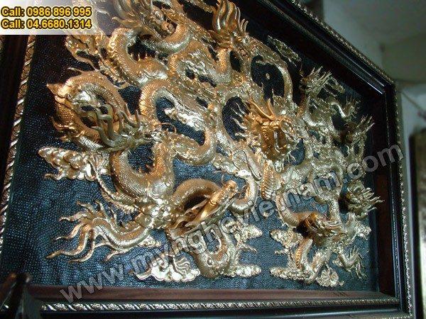 Cửu Long Tranh Châu, Cửu Long Quần Tụ - Siêu phẩm tranh đồng