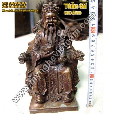 Thần tài, ông địa, thổ địa, cách thờ cúng thần tài, mua tượng thần tài
