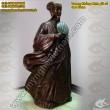 Tượng Khổng Minh - Gia Cát Lượng - Tượng đồng Phong thủy