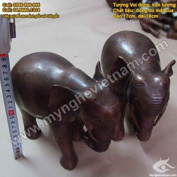 Kim tượng, voi đồng - Linh vật phong thủy, vật khí phong thủy