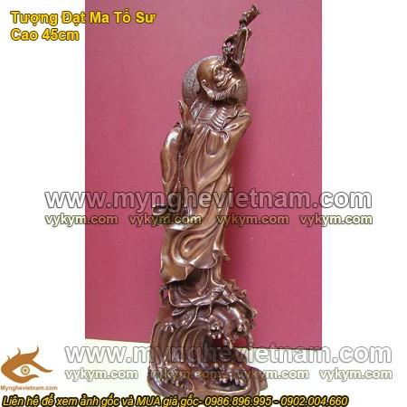 Đạt Ma Tổ Sư, Tượng Đạt Ma Tổ Sư, tượng đồng, tượng thờ, tượng giả cổ