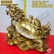 Long Quy, Rùa phong thủy, rùa đầu rồng, Long quy cõng như ý, Cõng con, vật phẩm chiêu tài, giảm tam sát