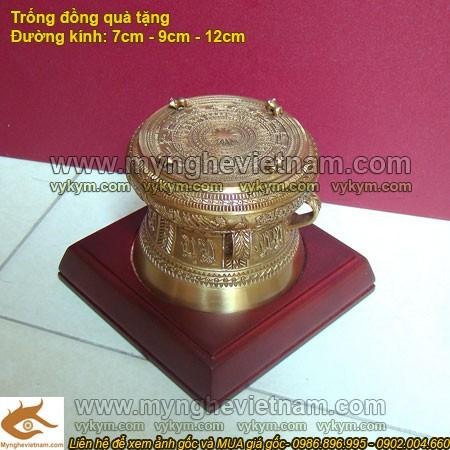 Trống đồng 7cm - Trống Đồng Việt Nam - Quà tặng mỹ nghệ cao cấp