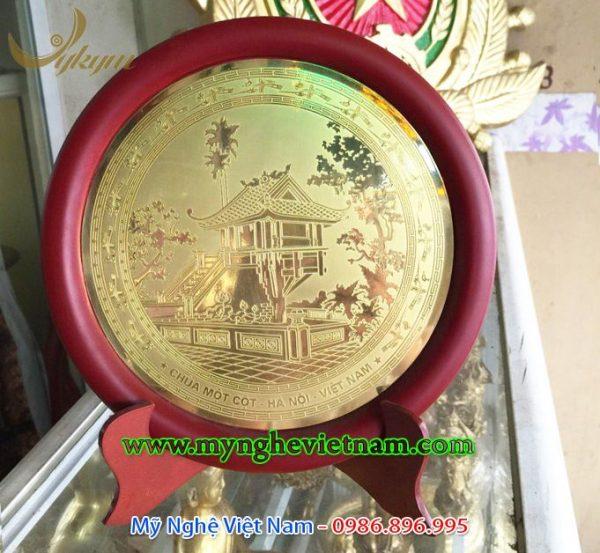 đĩa quà tặng chùa 1 cột hà nội