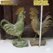 Gà đồng, Kim kê cao 43cm - gà phong thủy, vật phẩm phong thủy, chống lại thói trăng hoa