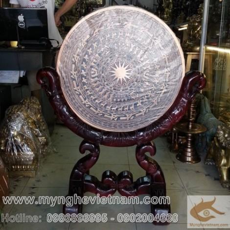 Mặt Trống đồng Đúc, Trống đồng Việt Nam, Trống đồng Đông Sơn, đúc bằng đồng đỏ