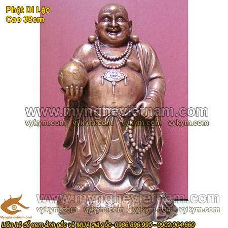 Tượng Phật Di Lặc, Phật Di Lạc, tượng Phật di lạc cầm quả cầu, tượng thờ cúng