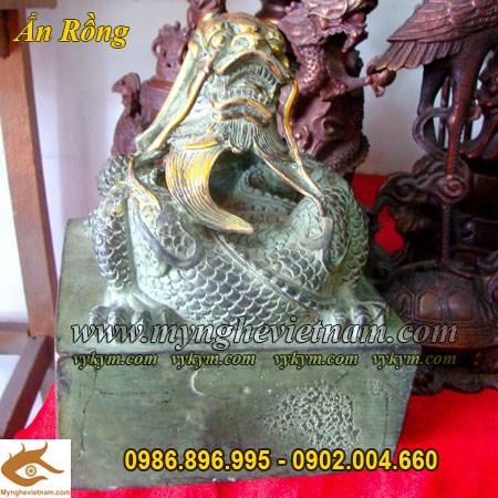 Ấn Rồng chầu, Ấn Thăng Quan, Ấn Phong Quan, Ấn Rồng bằng đồng, Ấn đồng phong thủy