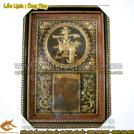 Lốc lịch đồng, Lốc Lịch chữ Thọ, Ông Thọ cưỡi Lộc - Trang trí ngày Tết
