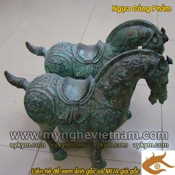 tượng ngựa, tượng ngựa thờ, tượng ngựa đồng