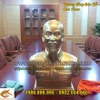 Tượng Chân Dung, Tượng Bán Thân Bác Hồ bằng đồng, cao 55cm, tượng trang trí phòng họp, phòng thờ