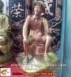 Tượng Bác Hồ ngồi,cao 40cm,đồng đỏ,tượng Bác Hồ,Việt Bắc