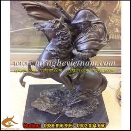 Tượng Napoleon,tượng Napoleon cưỡi ngựa,tượng đồng nghệ thuât,tượng đồng trang trí