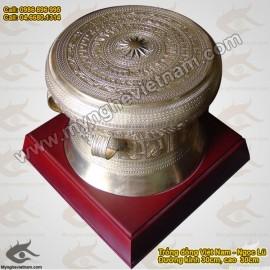 Trống đồng 20cm - Trống Đồng Việt Nam - Quà tặng mỹ nghệ cao cấp