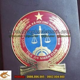 Sản xuất Huy hiệu Công AN, quốc huy, đúc quốc huy, logo, huy hiệu, bằng đồng