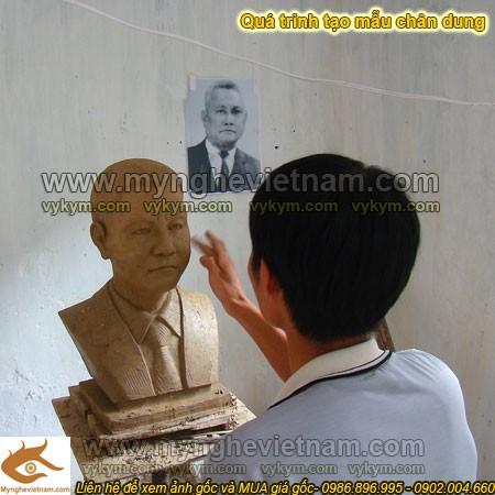 Nghệ nhân đắp tượng, tạc tượng, đúc tượng chân dung, tượng bán thân, tượng thờ, tượng kỷ niệm