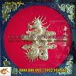 Sản xuất Tranh chữ Đồng, Phúc Lộc Thọ Đức Nhẫn Tâm hóa rồng, thư pháp