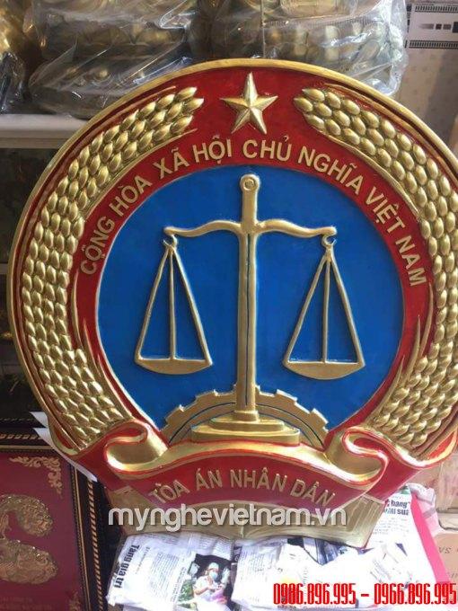 Huy hiệu tòa án, công an, quân đội, quốc huy Việt Nam bằng đồng0