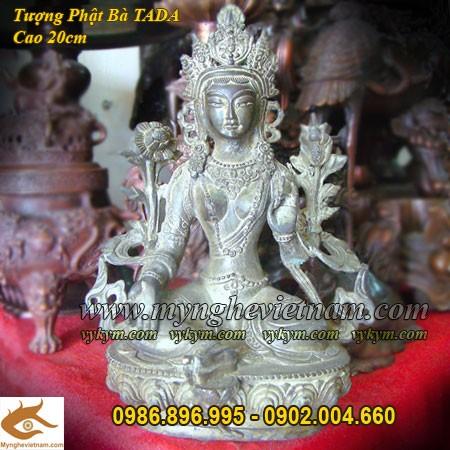 Tượng Phật Bà Tây Tạng cao 20cm, Phật bà Mật Tông tada0
