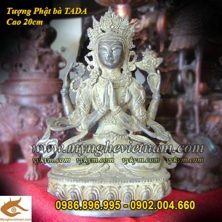 Tượng Phật Bà Tây Tạng Cao 20cm, Phật bà Mật Tông0