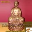 Tượng phật Thích Ca, Cao 45cm,Tượng Phật Tổ Như Lai, Phật Tổ chất liệu đồng, tượng đồng vàng thanh khiết
