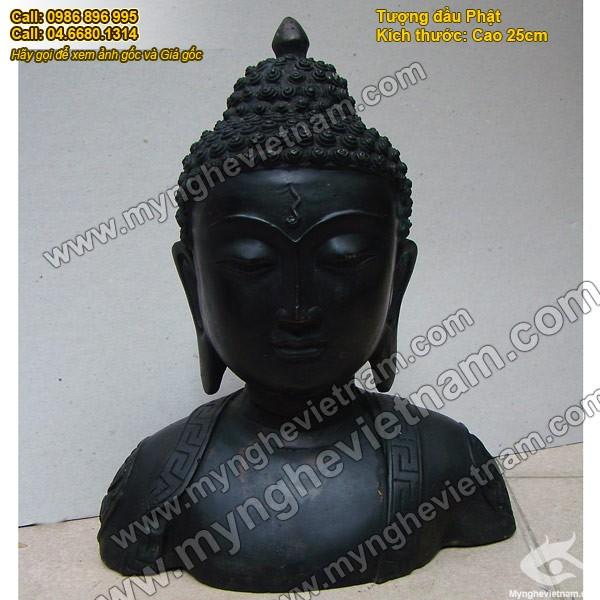 Tượng đầu Phật Tổ ,Đầu Phật Thích ca Mâu Ni 30cm0