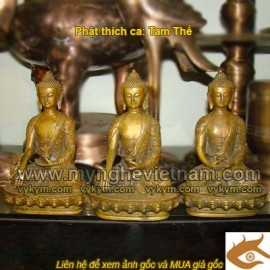 Tượng phật Thích Ca, tượng tam thế,Tượng Phật tam thế thiền,quá khứ, hiện tại,tương lai