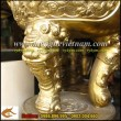 Đỉnh Đồng thờ cúng,đỉnh Song Long Chầu nguyệt, đỉnh thờ,đỉnh hương,cúng,tiến,đền,chùa,miếu,mạo